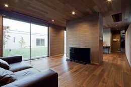 modern Bedroom by 依田英和建築設計舎