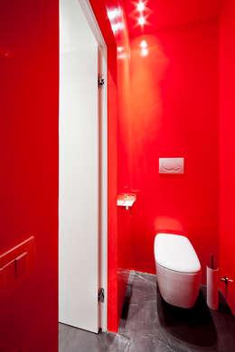 Projekty,  Łazienka zaprojektowane przez 23bassi studio di architettura