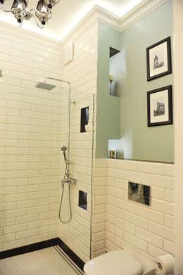 Apartament Novum: styl , w kategorii Łazienka zaprojektowany przez AgiDesign