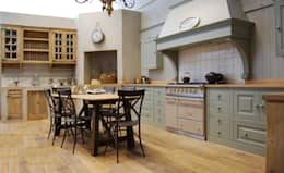 Belle e possibili: 8 superbe cucine in finta muratura