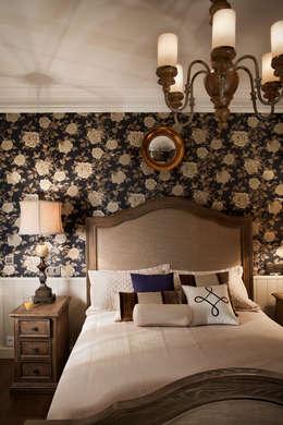 Гостевая спальная комната: Спальни в . Автор – Abwarten!