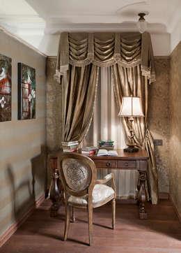 Главная спальная комната: Спальни в . Автор – Abwarten!