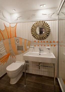 eclectische Badkamer door Abwarten!