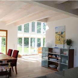 Projekty,  Jadalnia zaprojektowane przez Dammann-Haus GmbH