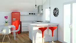 modern Kitchen by OGARREDO