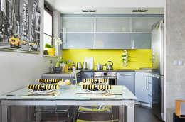 ZIZI STUDIO Magdalena Latos: modern tarz Yemek Odası