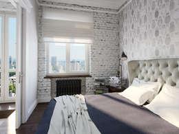 Industrial Bedroom By Aiya Design