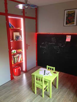 chambre d'enfant: Chambre d'enfant de style de style Moderne par Design Delta