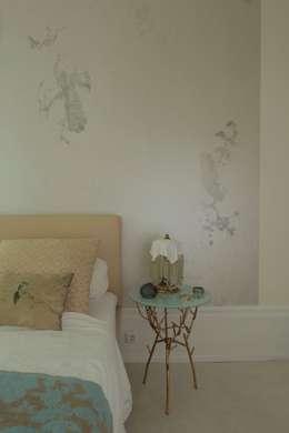 Projekty,  Sypialnia zaprojektowane przez CARLO Berlin - Architektur & Interior Design