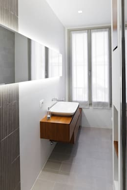 minimalistic Bathroom by bdastudio