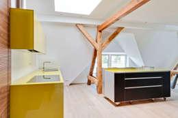 modern Kitchen by CARLO Berlin - Architektur & Interior Design