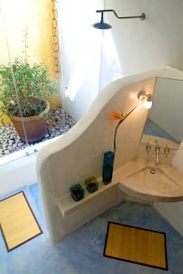 Baño Principal: Baños de estilo  por Taller Estilo Arquitectura