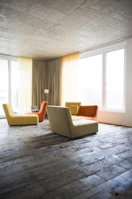 Projekty,  Salon zaprojektowane przez idA buehrer wuest architekten sia ag