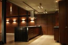مطبخ تنفيذ Taller Habitat Arquitectos
