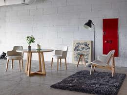Salle à manger de style de style Moderne par ANGEL CERDA