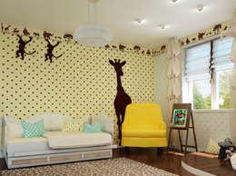 Горошек, горошек, горошек!!!: Детские комнаты в . Автор – Sweet Hoome Interiors