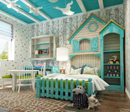 modern Nursery/kid's room by Sweet Hoome Interiors
