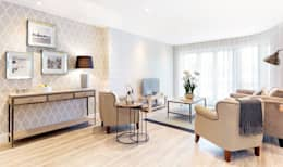 modern Living room by WN Interiors of Poole in Dorset