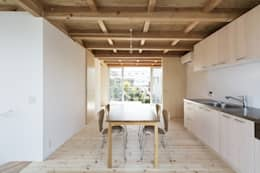木箱の家: すずきが手掛けたダイニングです。