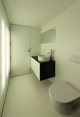 Salle de bain de style de style Moderne par GOELIN ARQUITECTOS