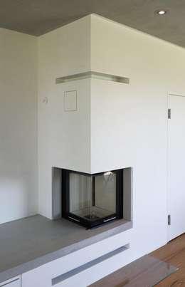 Projekty,  Salon zaprojektowane przez Haus Wieckin