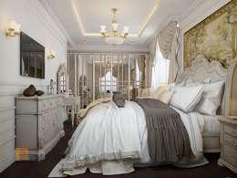 Спальня: Спальни в . Автор – Студия Павла Полынова