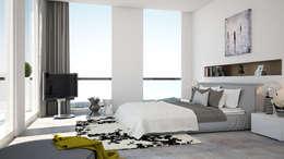 modern Bedroom by olivia Sciuto