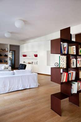 غرفة المعيشة تنفيذ MAT architettura e design