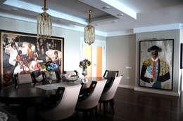 Sena Hayfavi – Salon: modern tarz Yemek Odası