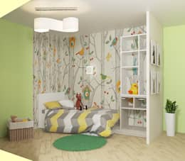Мозжерина Марина : eklektik tarz tarz Çocuk Odası