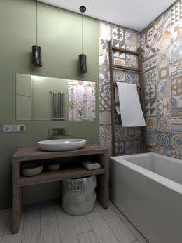 Salle de bains de style  par ИНТЕРЬЕР-ПРОЕКТ.РУ