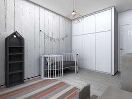 Квартира в стиле лофт: Детские комнаты в . Автор – ИНТЕРЬЕР-ПРОЕКТ.РУ