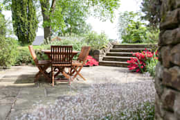 Projekty,  Ogród zaprojektowane przez Barnes Walker Ltd