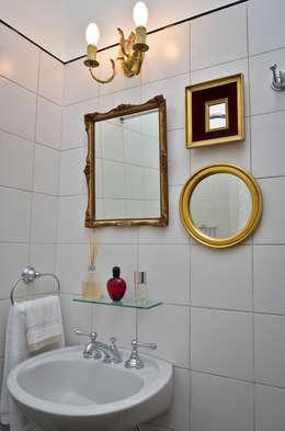 Departamento en Recoleta I: Baños de estilo moderno por GUTMAN+LEHRER ARQUITECTAS