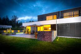 Projekty, nowoczesne Domy zaprojektowane przez Architekturbüro Ketterer