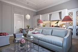 Квартира в стиле Прованс: Кухни в . Автор – Дарья Баранович Дизайн Интерьера