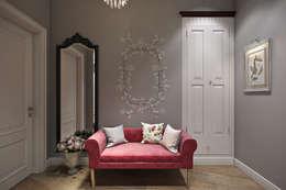 Квартира в стиле Прованс: Коридор и прихожая в . Автор – Дарья Баранович Дизайн Интерьера