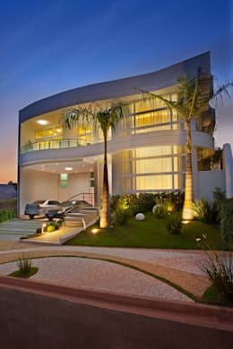 moderne Huizen door Arquiteto Aquiles Nícolas Kílaris