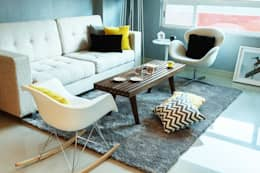 eclectic Living room by NEST