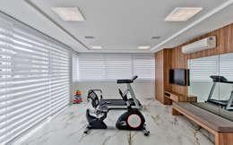 modern Gym by Espaço do Traço arquitetura