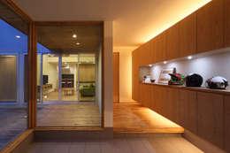 .: (株)ZAG空間設計舎が手掛けた壁です。