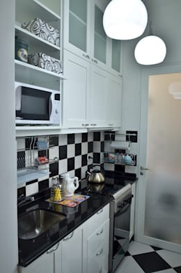 Departamento en Recoleta I: Cocinas de estilo moderno por GUTMAN+LEHRER ARQUITECTAS