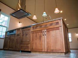 キッチン.*: 株式会社 盛匠が手掛けたキッチンです。
