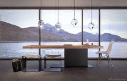 studioviro: modern tarz Yemek Odası