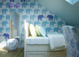Paredes y suelos de estilo  por Humpty Dumpty Room Decoration