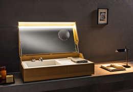 minimalistische Badkamer door Giulio Gianturco