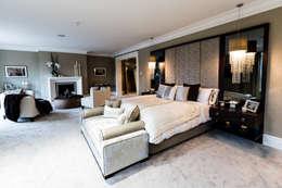 Projekty,  Sypialnia zaprojektowane przez Luke Cartledge Photography