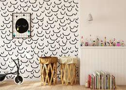 Tapeta dziecięca Smile: styl , w kategorii Pokój dziecięcy zaprojektowany przez Humpty Dumpty Room Decoration