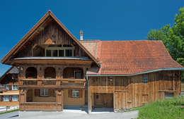 heim+müller Architektur: kırsal tarz tarz Evler