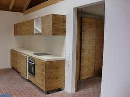 rustic Kitchen by Tischlerei Focke